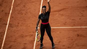Jövőre nem viselheti Párizsban a macskadresszét Serena Williams