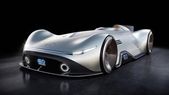 Szellemautót vetít a Mercedes új ezüstnyila