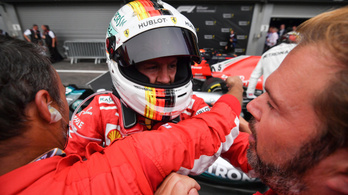 Ijesztő rajtbaleset után Vettelé a Belga Nagydíj
