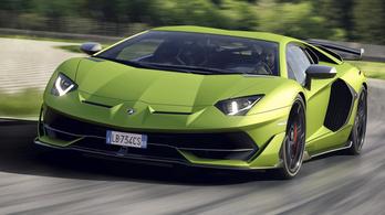 Hát akkor ez lenne az új csúcs-Lamborghini, az Aventador SVJ