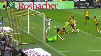 Witsel a forduló gólját ollózta Gulácsinak, négyet kaptak a BVB-től
