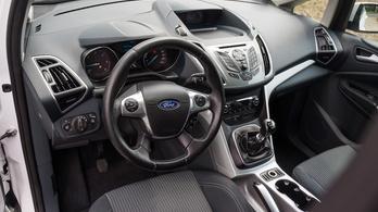 Használtteszt: Ford C-Max 1.6 TDCi Trend – 2010.