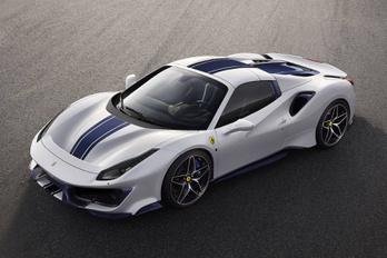 Itt az újabb Ferrari Pista