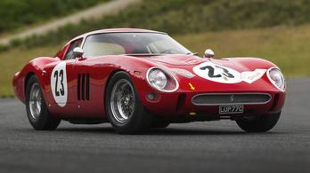 Hivatalosan Phil Hill Ferrarija a legdrágább
