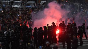 Hajtóvadászatot tartott a szélsőjobb Chemnitzben egy késelés után