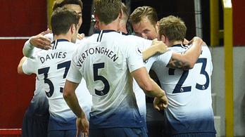 3-0-s kiütéssel hozta közelebb a kirúgást Mourinhónak a Tottenham