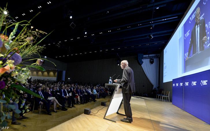 Az oszták államfő, Alexander Van der Bellen megnyitó beszéde.