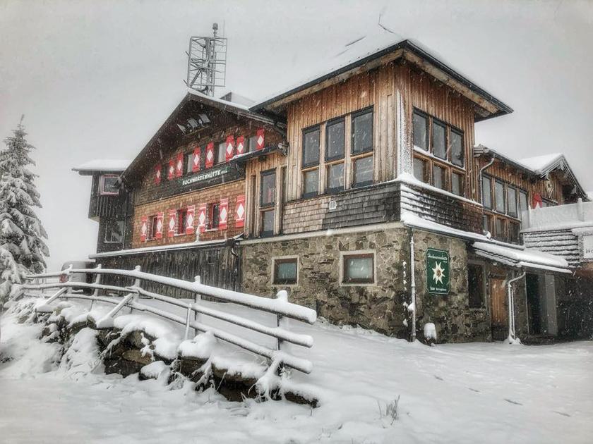 A hétvégi hidegfront meghozta az első havat Ausztriába.