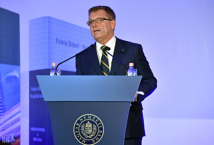 Matolcsy György a Magyar Nemzeti Bank (MNB) elnöke