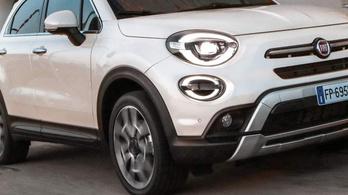 Új Fiat 500X, friss motorválasztékkal