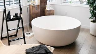Ha trendi fürdőszobát akarsz, csak ilyen kádat vegyél