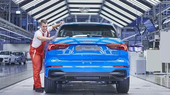 Elindult az új Q3 gyártása a győri Audi gyárban