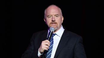 A maszturbálós botránya óta először állt színpadra Louis CK
