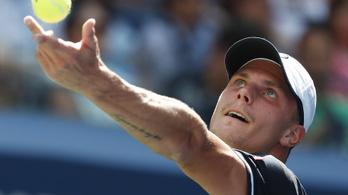 Fucsovics sokáig nagyszerűen játszott, de Djokovics nyert a US Open első fordulójában