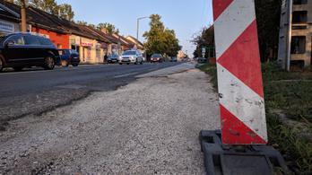 Felújítják a Solymáron átvezető főút egy szakaszát