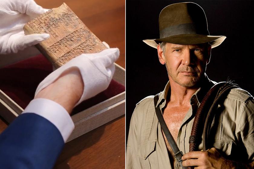 Az agyagtábla, ami Indiana Jonest adta a világnak: felfedezője ihlette