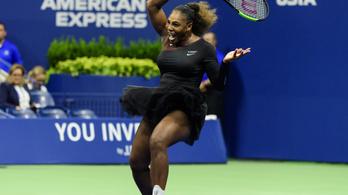 Serena Williams macskadressz helyett tütü szoknyában játszott