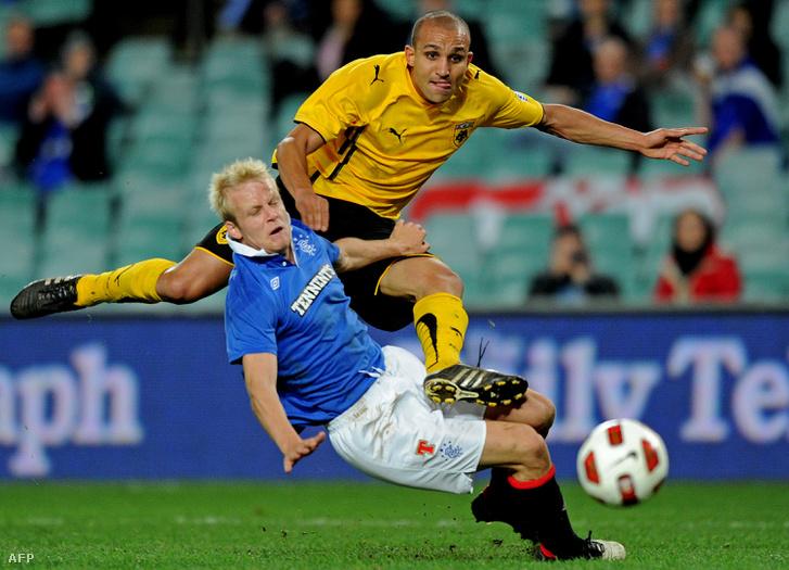 AEK Athén - Rangers FC, 2010. júl. 31.