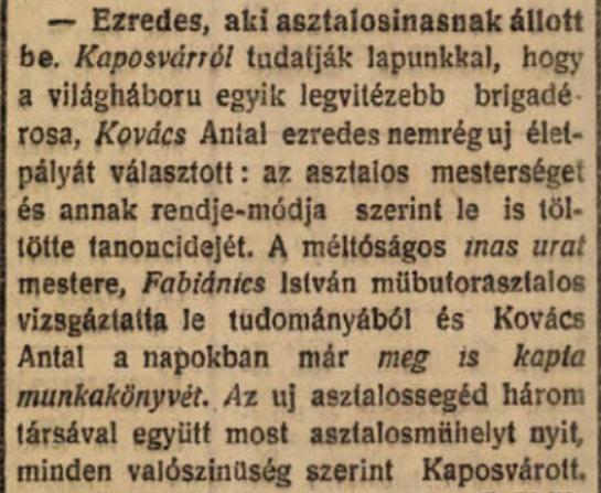 Új Barázda 1922. március 15. 3. o.