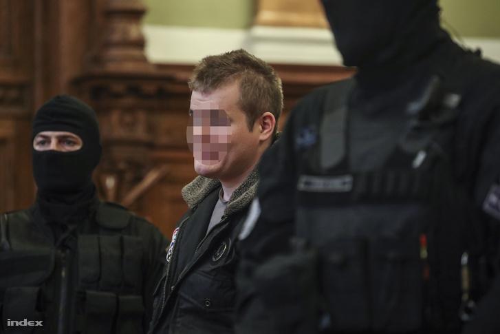 A Teréz körúti robbantó a bíróságon 2018. február 7-én