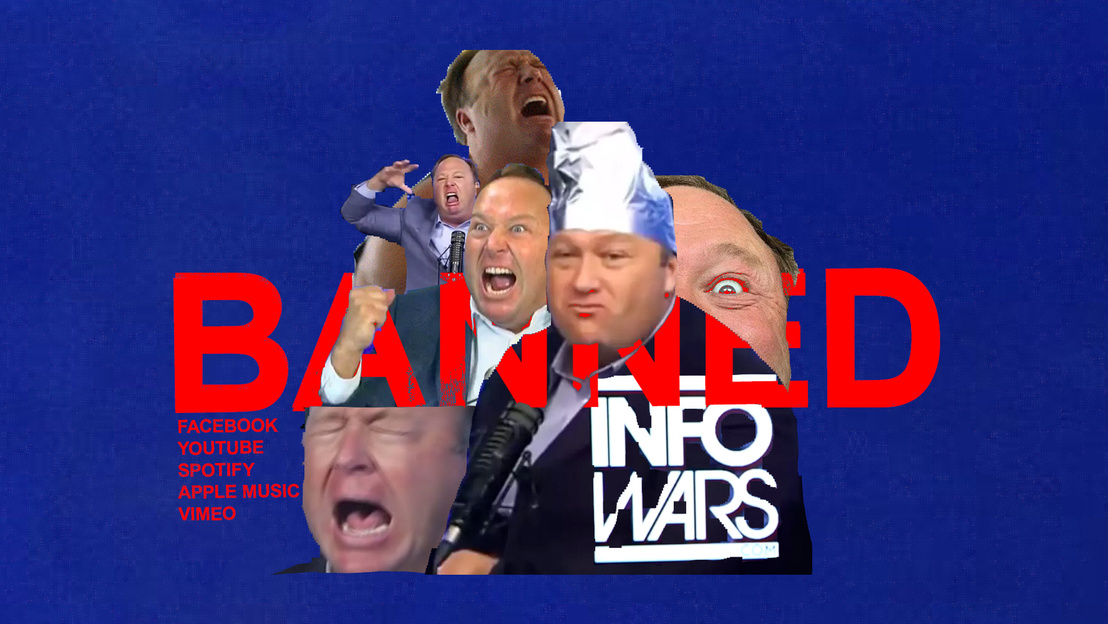 alex jones banned