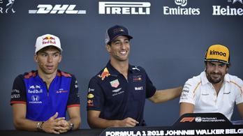 Ricciardo lesz az új Alonso?