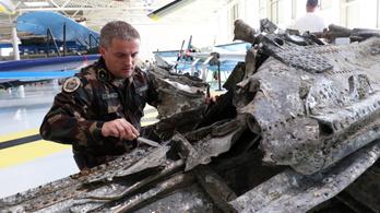 Második világháborús bombázó roncsa került elő a Dunából