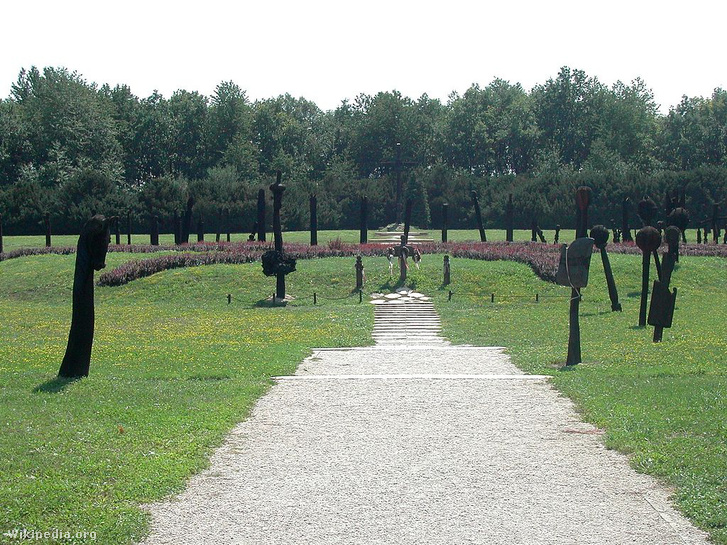A mohácsi csata emlékműve
