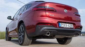 Teszt: BMW X4 xDrive 25d