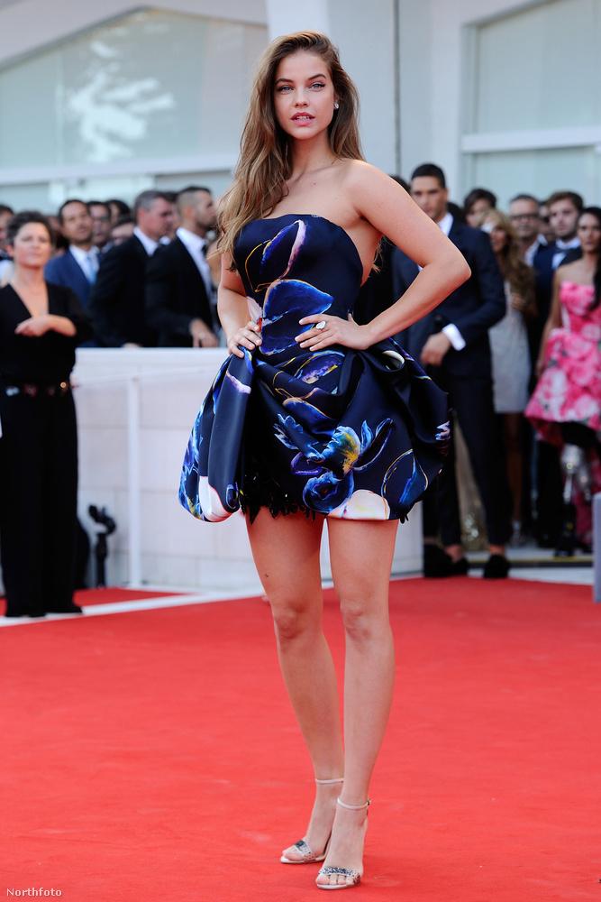 Azonkívül, hogy megmutatjuk a magyar modell ruháját, amely a hosszát tekintve nem hagy túl sok teret a képzeletnek, hadd jegyezzük meg,