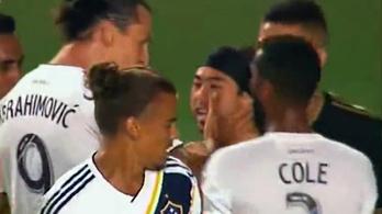 Megint eljárt Ibrahimovic keze?