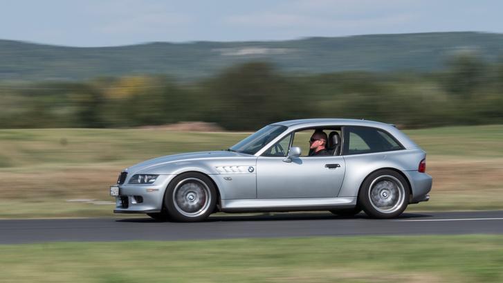 BMW Z3 Coupéval haladni öröm