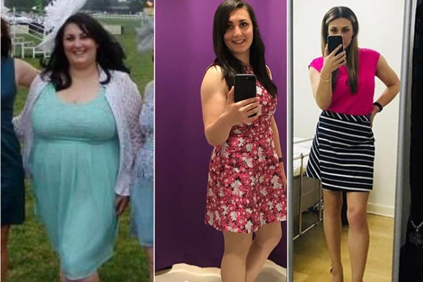 50 kilót adott le, miután otthagyta a fogyicsoportot: így szabadult meg a fiatal nő a túlsúlyától