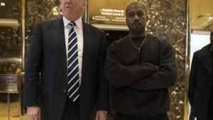 Kanye West szerint Donald Trump küzd a feketék kegyeiért