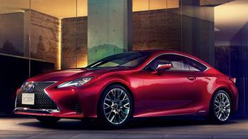 Új Lexus érkezik az ősszel
