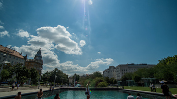 Pénteken visszakullog Magyarországra a nyár