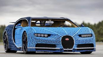 Lego-Bugatti egymillió alkatrészből
