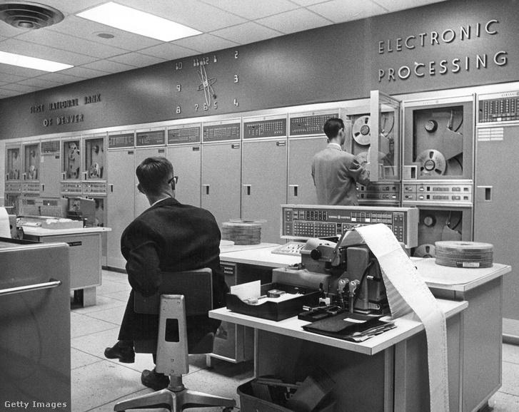 IBM számítógépes rendszer 1965-ben