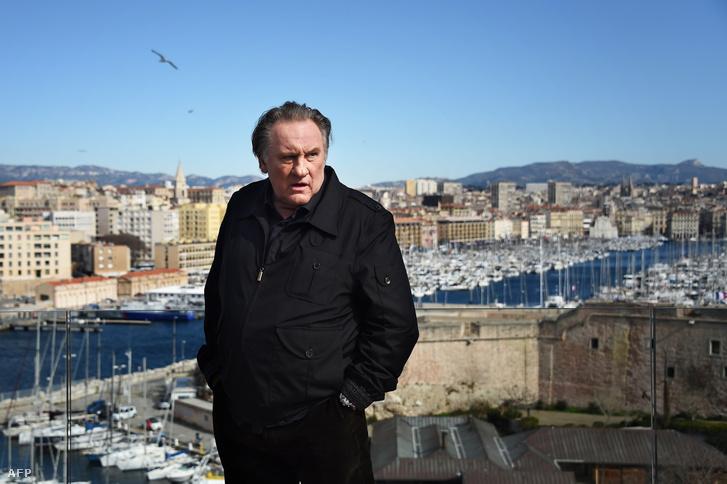 Gerard Depardieu francia színész