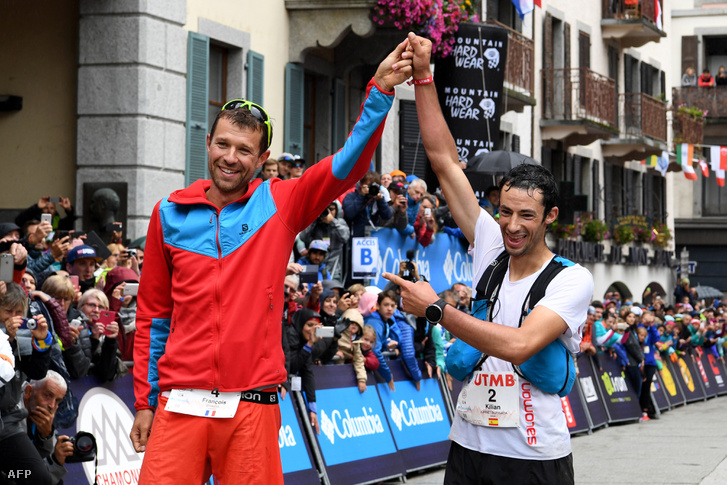 Tavaly a francia Franocis D'Haene elsőként, a spanyol Kilian Journet másodikként ért célba