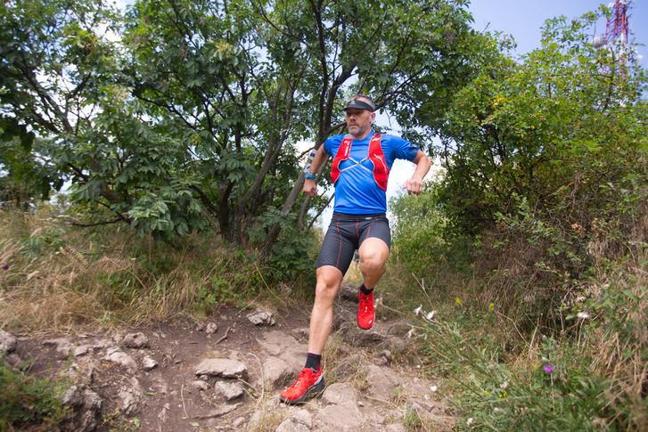 Lőrincz Olivér 2016-ban a Kéktúra útvonalát futja