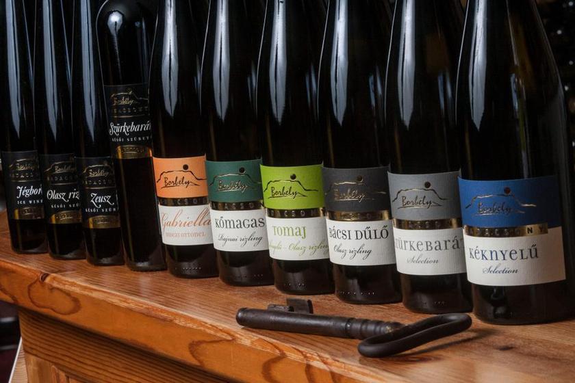 Borbély Családi Pincészet borok
