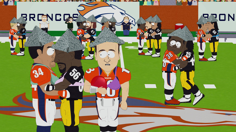 Az NFL a South Park-viccé válásból táncolt vissza?