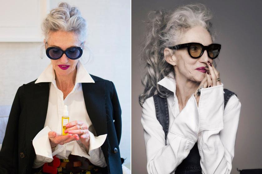 Imádja a fekete-fehér kombinációt, mert kifinomultságot és eleganciát kölcsönöz a megjelenésének. A fehér ing pedig már-már védjegyévé vált: rengeteget hordja, de olyan változatosan, hogy sosem lesz unalmas.