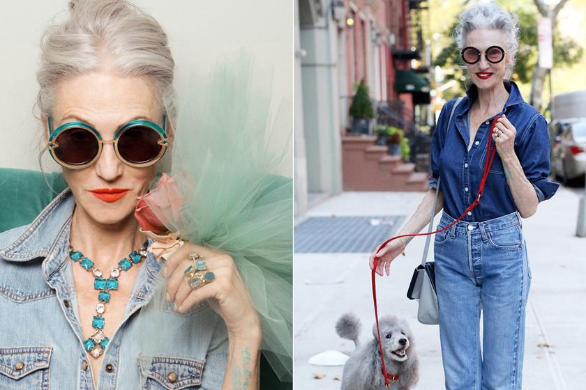 70 éves, de jobban öltözik, mint a fiatalok: az egész világ imádja Linda Rodin nőies stílusát