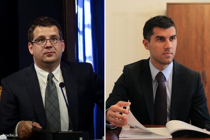 Seszták Miklós és Mihalovics Péter Árpád