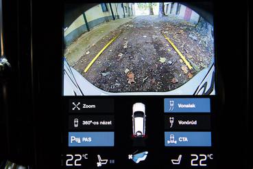 Full HD tolatókameramonitor