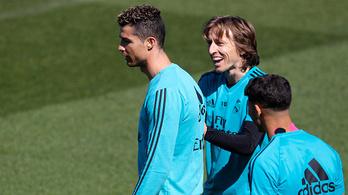 Ronaldo megsértődött Modric miatt