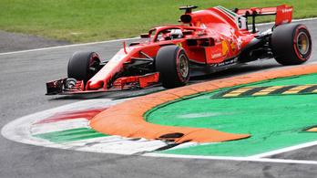 Vettel egy hajszállal előzte Hamiltont a harmadik szabadedzésen