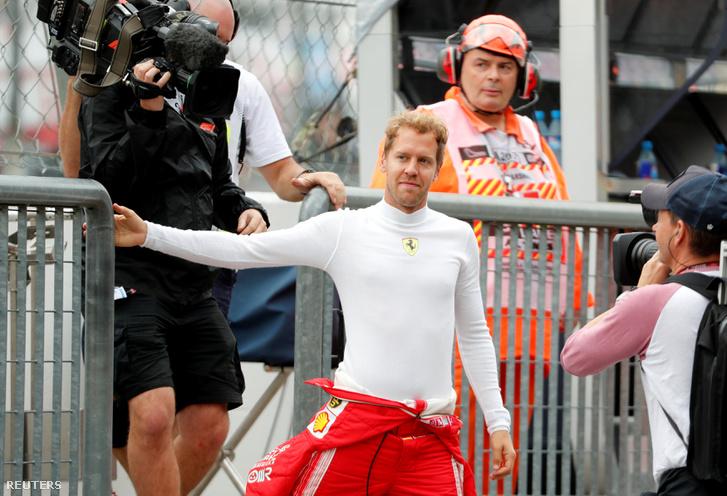Sebastian Vettel Mozában